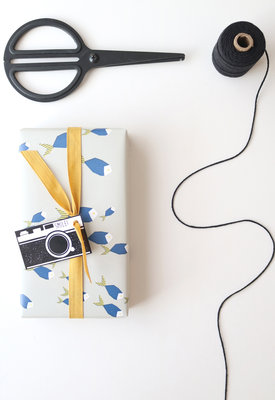 gift labels - camera 1