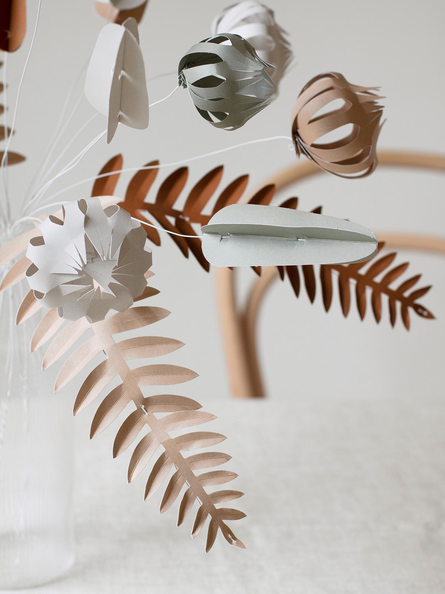 KORE paper flowers