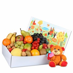 Fruitbox Knuffelbeer