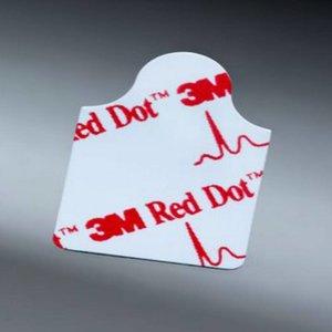 3M 3M Red Dot Resting EKG Electrode -  22 X 25 Mm