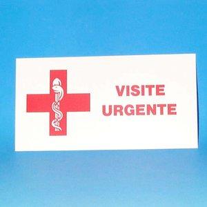 Plaat Dokter Dringend Bezoek