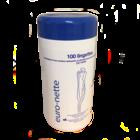Desinfecterende doekjes in koker  -  13 x 20 cm - 100st