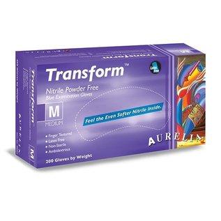 Aurelia Transform Soft Nitril Poedervrije onderzoekshandshoen