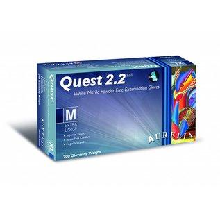 Aurelia Quest 2.2 Nitril Poedervrije onderzoekshandschoen