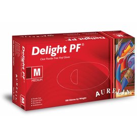 Aurelia Aurelia Delight Clear PF Vinyl Handschoen (10 x 100st)