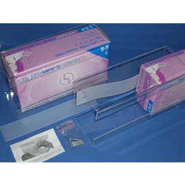 Dispenserdoos Houder Plexiglas (1 dispenserdoos)