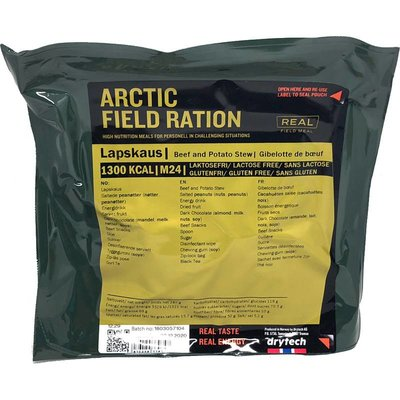 Real Field Meal Arctic Field Ration Beef and Potato Stew