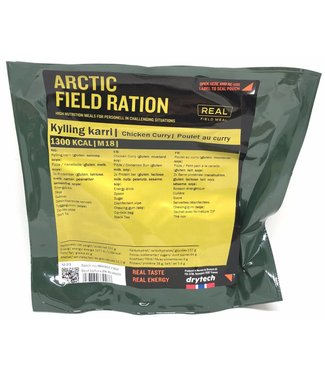 Real Field Meal Arctic Field Ration Chicken Curry