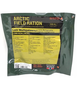 Real Field Meal Arctic Field Ration Lamb Mulligatawny