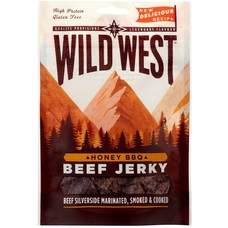 Wild West Beef Jerky Honey BBQ