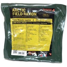 Real Field Meal Arctic Field Ration Tikka Masala Vegeterian