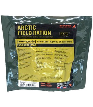Real Field Meal Arctic Field Ration Lamb Stew