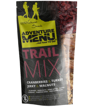 Adventure Menu Trailmix - Cranberry | turkey JERKY | Walnuts 50g
