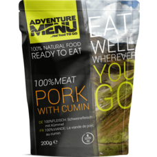 Adventure Menu 100%MEAT Pork meat with cumin