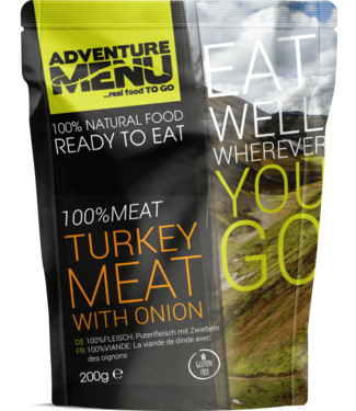 Adventure Menu 100%MEAT Turkey meat with onion