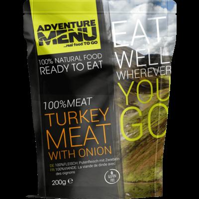 Adventure Menu 100%MEAT Turkey meat with onion