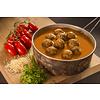 Adventure Menu Meatballs with basmati and tomato sauce