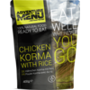 Adventure Menu Chicken Korma with rice