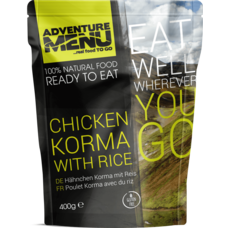 Adventure Menu Chicken Korma with rice