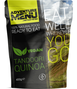 Adventure Menu Tandoori Quinoa - VEGAN