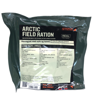 Real Field Meal Arctic Field Ration Porridge with Apple and Cinnamon