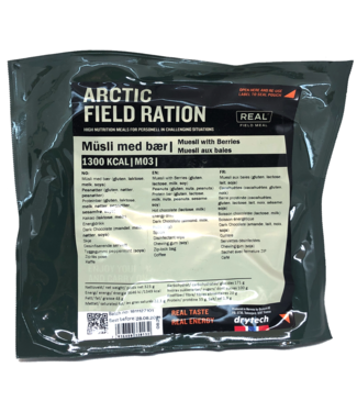 Real Field Meal Arctic Field Ration Muesli with Berries