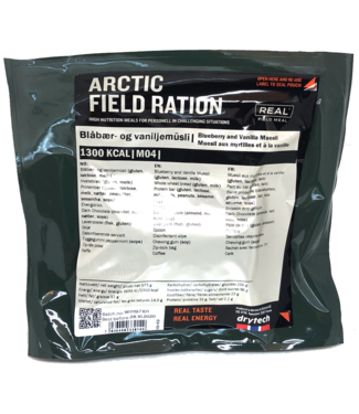 Real Field Meal Arctic Field Ration Blueberry and Vanilla Muesli