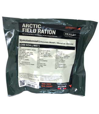 Real Field Meal Arctic Field Ration Chocolate Meusli
