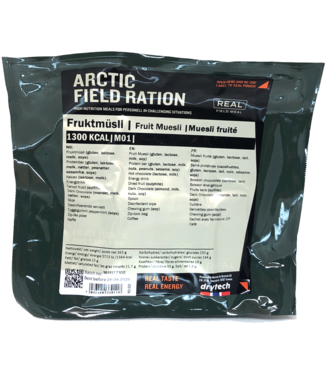 Real Field Meal Arctic Field Ration Fruit Muesli