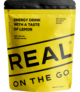 Real Turmat Energy Drink Lemon