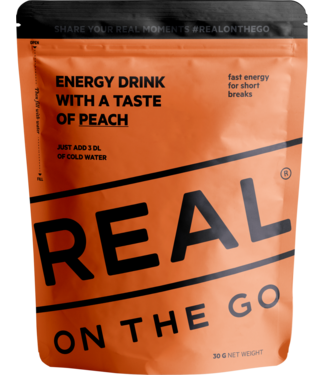 Real Turmat Energy Drink Peach