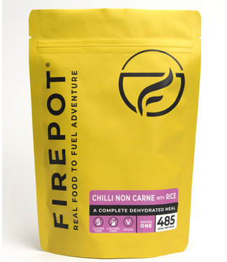 Firepot Chilli Non Carne and Rice
