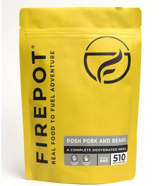 Firepot Posh Pork and Beans