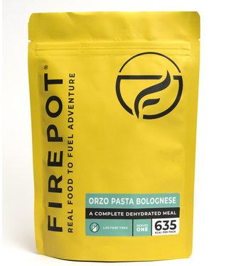 Firepot Orzo Pasta Bolognese