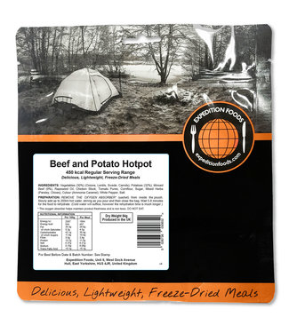 Expedition Foods Beef and Potato Hotpot