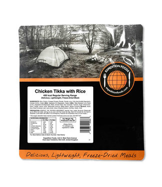 Expedition Foods Chicken Tikka with Rice