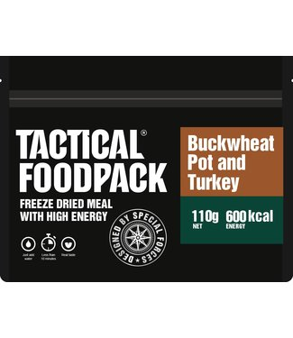 Tactical Foodpack Buckwheat pot and turkey
