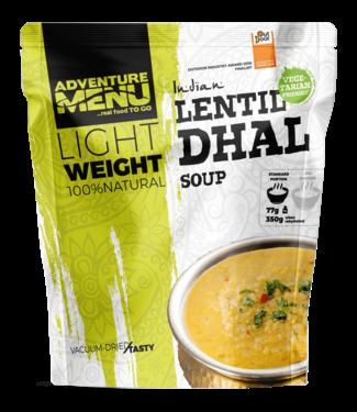 Adventure Menu Lentil Dhal (soup)