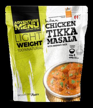 Adventure Menu Chicken Tikka Masala with basmati