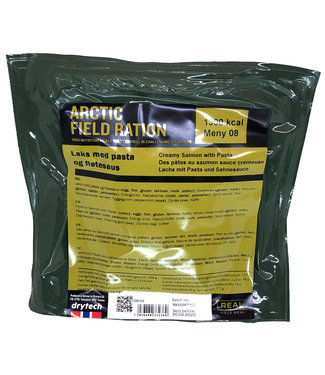 Real Field Meal Arctic Field Ration Creamy Salmon with Pasta