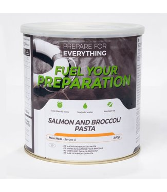 Fuel Your Preparation Salmon and Broccoli Pasta