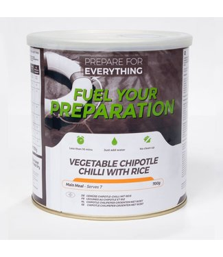 Fuel Your Preparation Vegetable Chipotle Chilli with Rice