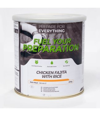 Fuel Your Preparation Chicken Fajita with Rice