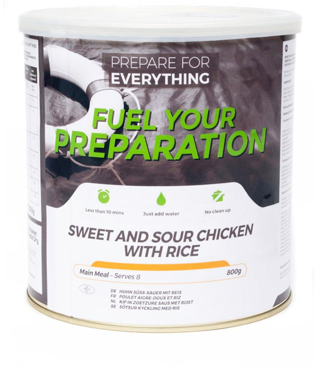 Fuel Your Preparation Sweet and Sour Chicken with Rice