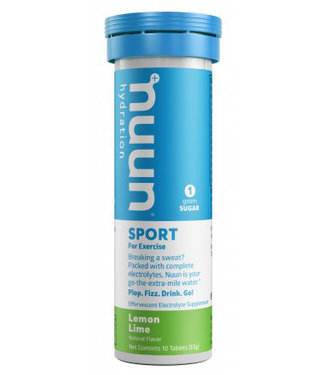 Nuun Sport - Lemon lime