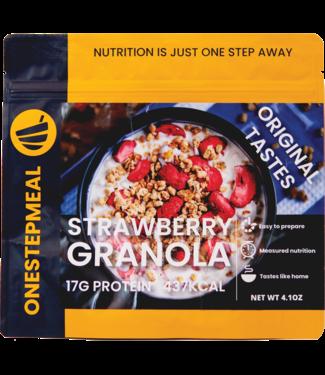 Onestepmeal Strawberry Granola