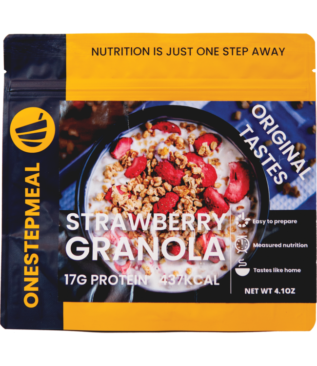 Onestepmeal Strawberry Granola