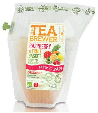 Grower's Cup Raspberry & Fruit Basket
