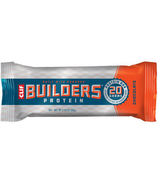 Clif Bar Builder's protein chocolate