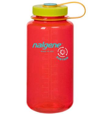 Nalgene 32oz Wide Mouth Sustain Pomegranate
